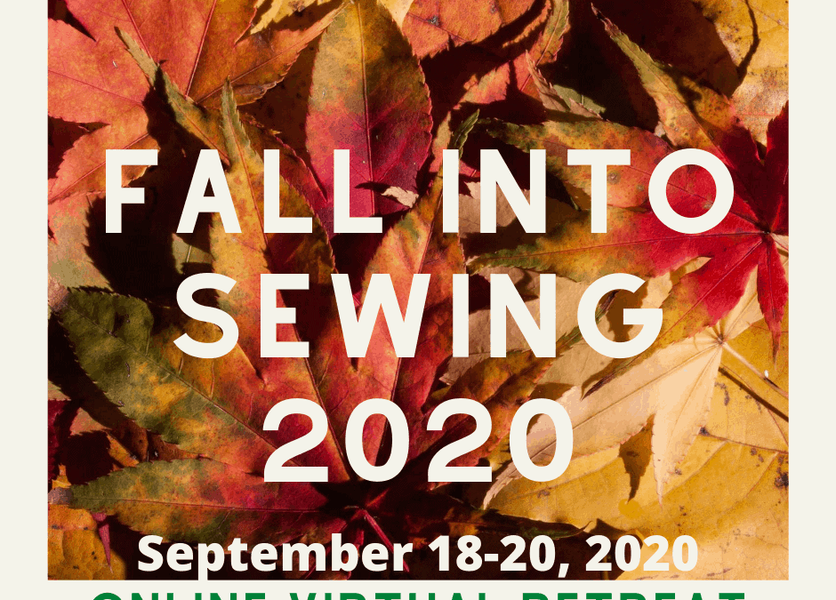 Fall into Sewing 2020